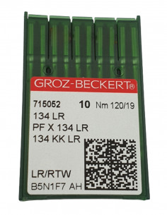 IGŁA GROZ-BECKERT 134 LR/134KKLR/135X8RTW 120/19 op. 10 szt. KM6022