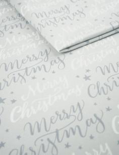 Tkanina MERRY CHRISTMAS 02 SOFT VELVET