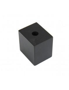 NOGA MEBLOWA KM662 kostka leżąca H50, L50 czarna