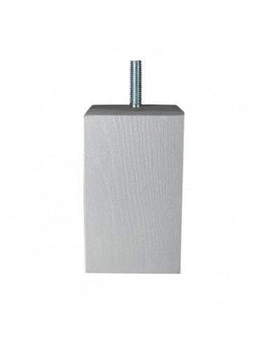 NOGA MEBLOWA KM626 kostka stojąca 60x60 H100 srebrny