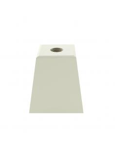 NOGA MEBLOWA KM630 trapez H50 biała