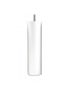 NOGA MEBLOWA KM615 walec stojący fi50 H180 biała