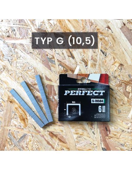 ZSZYWKI 10mm TYP G   (1000szt.)  S-70588