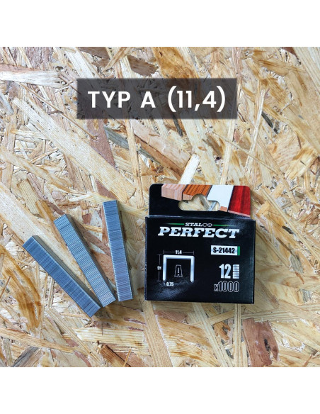 ZSZYWKI 12mm PERFECT (1000szt.)  S-21442