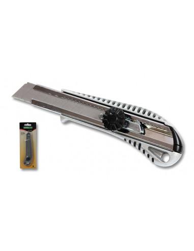 NÓŻ MET. 18mm BLOKADA SKRĘCANA   S-17540